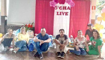 Voluntários de Culturama arrecadam doações em Live para a Rede Feminina de Combate ao Câncer