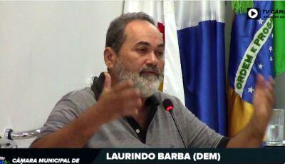 Barba pede reforma da ponte da 5ª Linha Poente, perto do sítio do Bodezan