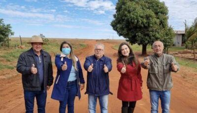 Após anos de luta, Mara Caseiro conquista asfalto na MS-295 em Eldorado