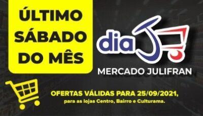 HOJE tem dia 'J' com tudo abaixo do preço no Mercado Julifran em Fátima do Sul