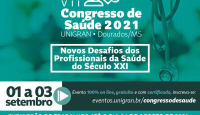 UNIGRAN inicia hoje, dia 1º, VII Congresso de Saúde