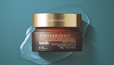 Boticário lança linha de Ácido Glicólico, que promove renovação celular e iluminação da pele
