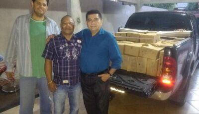 Culturamense de coração e empresário, Francisco doa coleção de 30 anos de revista à UEMS de Amambai