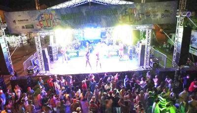 Carnaval Ecofolia acontecerá entre os dias 9 e 13 de fevereiro na Avenida Eron do Couto, em Bonito