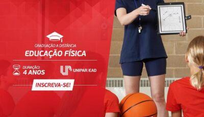Graduação a Distância em Educação Física, com duração de 4 anos é destaque UNIPAR EAD em DOURADOS