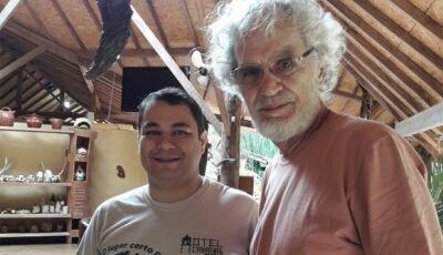 Em Bonito, Renato Teixeira faz música em homenagem à cidade...'Bonito é bonito!' - OUÇA AQUI