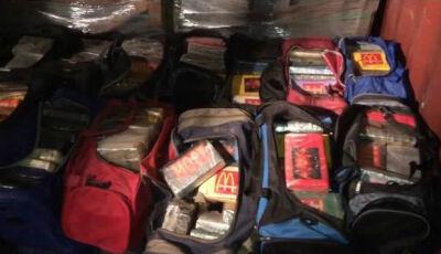 Polícia apreende 1,5 tonelada de cocaína pura em contêiner no porto do Rio