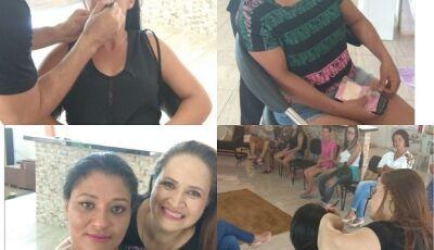 Fátima do Sul, distrito de Culturama e Jateí receberam ações do O Boticário na semana da mulher