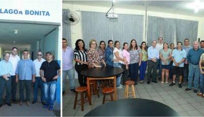 Em Deodápolis, Barbosinha visitou escolas na sede e Lagoa Bonita que receberam emendas parlamentares