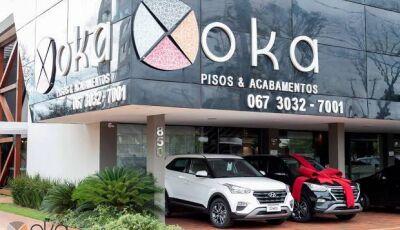 OKA Pisos e Acabamentos sorteia neste sábado 02 Hyundai Creta 0KM durante café da manhã em DOURADOS