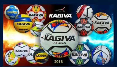 Foi lançado no mercado linha de bolas 2018 da Fabrica Kagiva de Vicentina