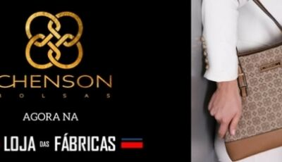 Bolsas: símbolo da moda, com a qualidade Chenson na LF Calçados em Fátima do Sul