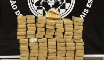 Veículo carregado com R$ 1 milhão em cocaína é apreendido na Capital
