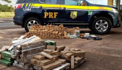 Trio é preso levando droga, pistolas e mais de 2 mil munições para o RJ