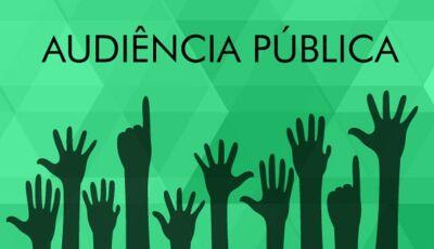 EDITAL: Prefeitura presta contas hoje do 2º semestre e Fundo Saúde em Audiência Pública em Vicentina