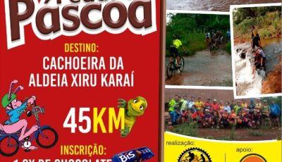 DOURADOS: Pedal da Páscoa será no sábado 31 e inscrição é 1cx de chocolate para crianças da Aldeia