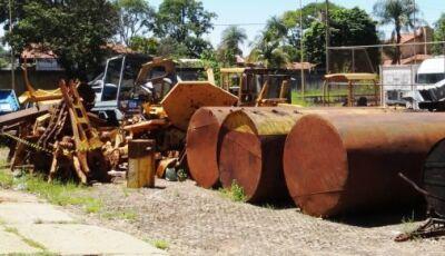 Governo do Estado do MS leiloa equipamentos agrícolas, rodoviários e veículos nos próximo dias
