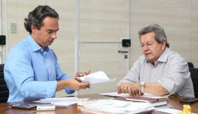 Onevan apresenta requerimentos em favor de bairros para Marquinhos Trad em Campo Grande