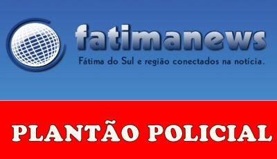 #AGORA: atropelamento na rotatória próximo a ponte do rio Dourados em Fátima do Sul