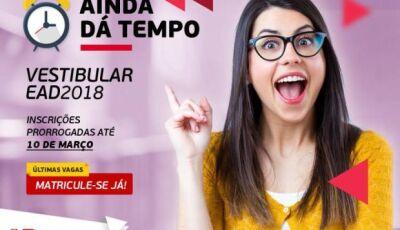 UNIPAR EAD com Polo em DOURADOS sorteará smartphone e matrículas são prorrogadas até 10 de março