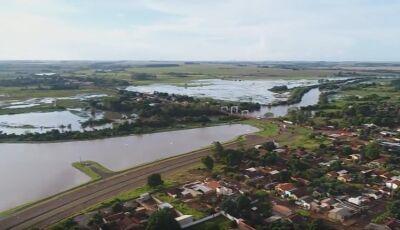 Assista e confira como está o rio Dourados e a Orla após as chuvas em Fátima do Sul