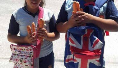 Pais criticam distribuição de cenouras para alunos de Duque de Caxias na Páscoa