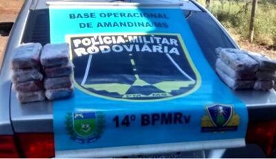"""Fatimassulense é preso com carro """"preparado"""" com 32 quilos de pasta base de cocaína"""