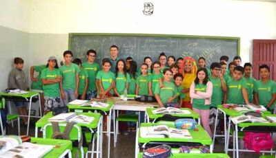 Escola Senador Filinto Muller comemora o dia do Livro em Fátima do Sul