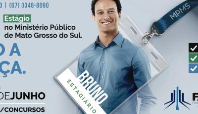 """Abertas inscrições para """"Concurso Público de estagiários do Ministério Publico de MS"""""""