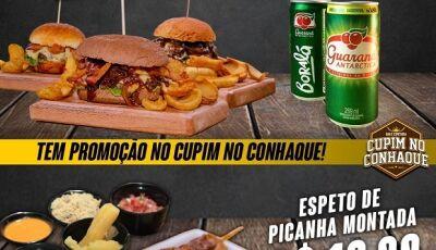 Confira a promoção da semana do Cupim no Conhaque e os deliciosos pratos em Fátima do Sul