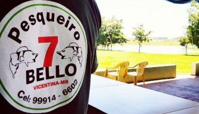 VICENTINA: Pesqueiro 7 Bello servirá almoço neste sábado feriado, o cardápio será o 'Frango Caipira'