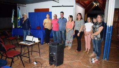 Educação realizou 1ª Audiência Pública para aprovação de relatório do plano municipal em Vicentina