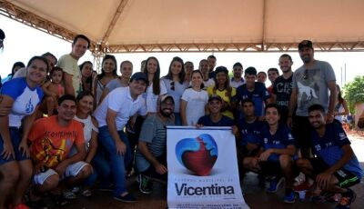 Veja as FOTOS da abertura do programa 'Seu Bairro em Boas Mãos' realizado em Vicentina
