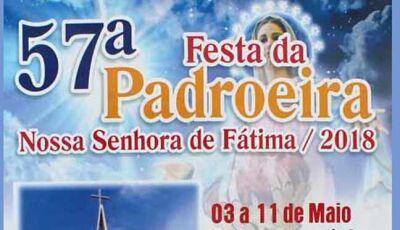 Paróquia Nª. Srª. de Fátima realizará 57ª Festa da Padroeira em Fátima do Sul