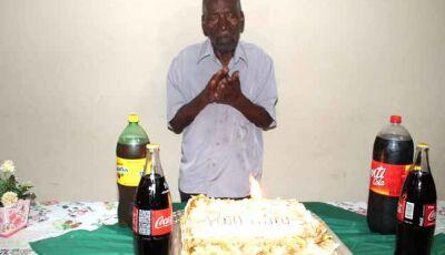 Pioneiro comemora 98 anos de vida e fala do segredo para chegar a essa idade em Fátima do Sul