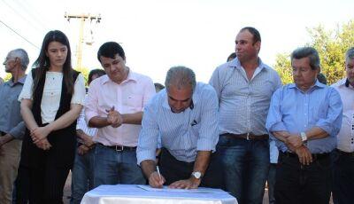 Vicentina recebe investimento de R$ 1,98 milhão para pavimentação, restauração e drenagem