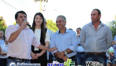 Veja as FOTOS da assinatura da ordem de serviço para investimentos em Vicentina