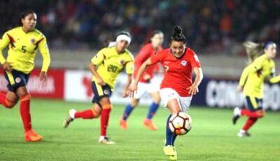 Chile e Colômbia empatam e Brasil garante vaga no Mundial de futebol feminino