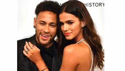 Com ciúme, Neymar lamenta volta de par romântico de Bruna Marquezine à novela das sete