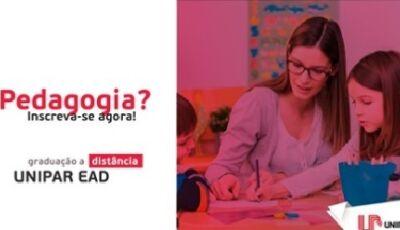Para quem quer fazer a diferença, Unipar EAD oferece curso de Pedagogia agora em DOURADOS
