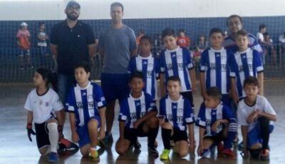 Escolinha de Futsal faz amistoso e inscrições estão abertas para outras modalidades em Vicentina