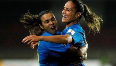 Brasil vence a Colômbia por 3 a 0 e conquista a Copa América de futebol feminino