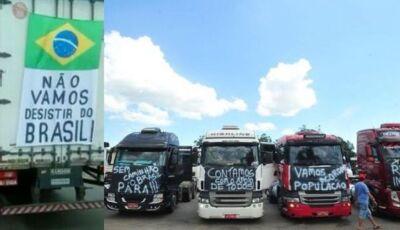 Caminhoneiros prometem fechar rodovia nesta segunda-feira das 07h às 18h em Fátima do Sul