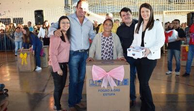 Marquinhos do Dedé homenageia mães com sorteio de prêmios em Vicentina