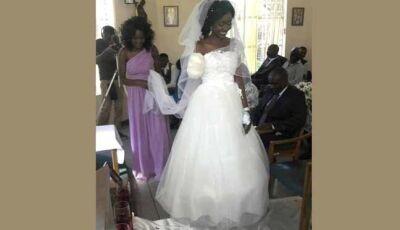 Casal se casa dias após noiva ter braço arrancado em ataque de crocodilo