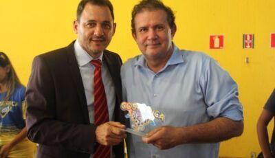 Prefeito de Costa Rica, Waldeli Rosa, declara apoio a pré-candidatura do deputado Eduardo Rocha