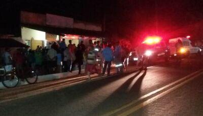 Homem é morto a 'facada' enquanto mexia em máquina de música em bar em Glória de Dourados