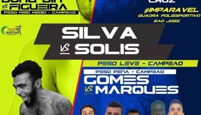 Deodápolis viverá fortes emoções com lutas eletrizantes no EFC Elite Fight Championship