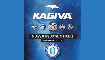 Kagiva de Vicentina agora é a bola Oficial do Futsal na Argentina