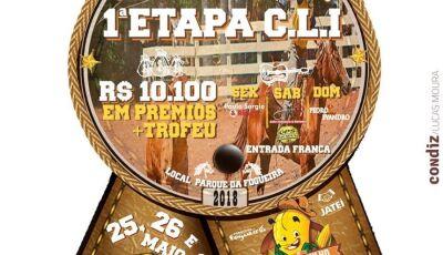 Com mais de R$ 10 mil em premiação, Festa do Milho começa com Circuito do Laço Comprido em Jateí